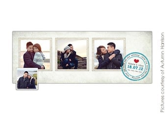 INSTANT DOWNLOAD - Facebook Timeline Cover Collection - Save the Date - E383