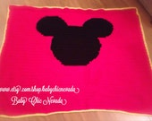 Mickey Mouse Afghan Pattern