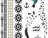 Jewellery Temporary Tattoo A5 Set