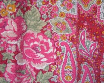 ETRO Milano Pastel Cotton Velvet Print Slacks Made in Italy Size 38