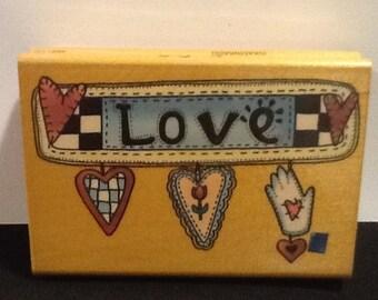Love, Shop til You Drop or Sow Good Seeds Stamps