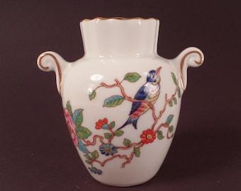 Aynsley, Miniature Urn, Pembroke Design, English Bone China, Collectible, Vintage, Bud Vase