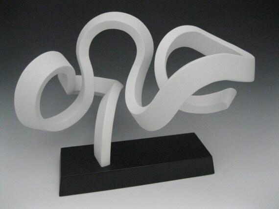 Bien connu Articles similaires à Bois, sculpture, sculpture abstraite moderne  HB43