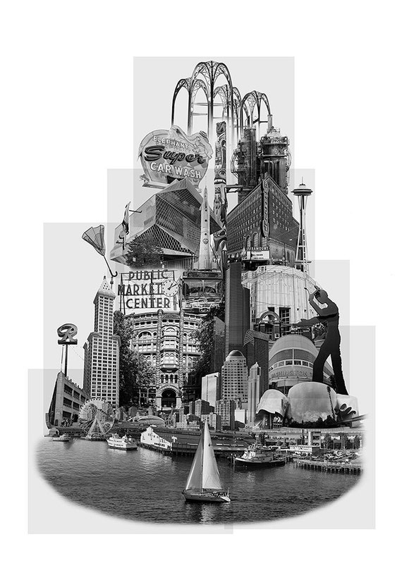 Tower of Seattle - 13x19 Limited Edition Archival Art Print