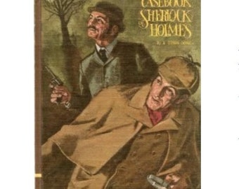 iPad Cover / Book Tablet Cover Case- (iPad / iPad Air / Kindle Fire 8.9 / Nexus 10 / Samsung 10.1 / Hardcover / Book) Sherlock Holmes