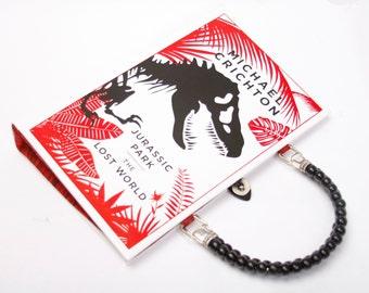 Jurassic Park Book Purse Handbag and Kindle Ereader Cover