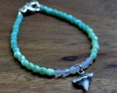 Crystal Cove Shark Tooth Bracelet