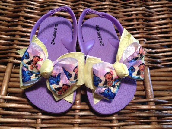 Lilo and Stitch Toddler Flip Flop Sandals