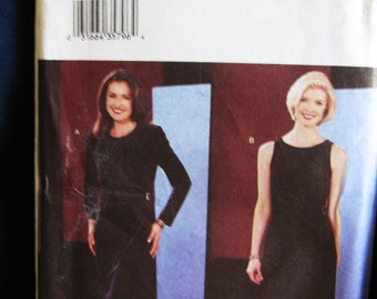 Butterick Misses Womens Evening Dress Gown Sewing Pattern 3667 Uncut Size 12 14 16