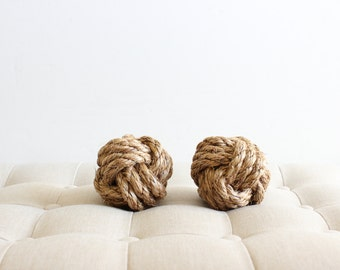 medium manila knot / set of 3
