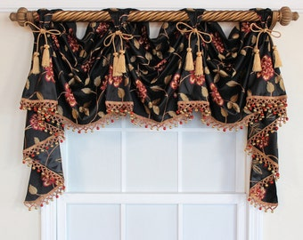 Popular Items For Valance With Tassels On Etsy
