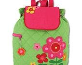 Personalized Flower Backpack, Stephen Joseph backpack