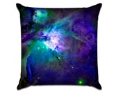 """Galaxy (5) - Photo Sofa Throw Pillow Envelope Cover for 18"""" inserts"""