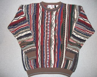 Capital One Prime Credit Peggy Speaking Sweater, Coogi Look, Tacky Gaudy Ugly Christmas Party X-Mas Holiday Halloween Costume XL Extra Large