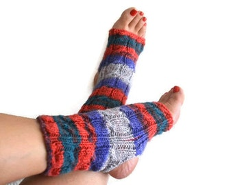 Colorful toeless yoga socks ,socks,pilates,flip flops,sandals,home slippers,Great gift for the yoga enthusiast, Trending Items