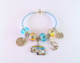 VW Bay Hippy Van Bracelet