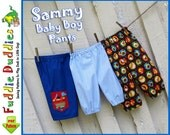 Super Quick and Easy Boy's Pants Pattern. Baby Pants Pattern. Infant Pants Pattern, Boy's Sewing Pattern. Infant Sewing Pattern. pdf Pattern