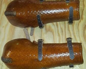 Leather Armor Hardened Bazubands Bracers