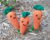Crochet Amigurumi Carrot
