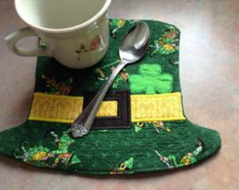 In The Hoop St Patty's Day Mug Rug