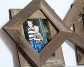11x14 Reclaimed Wood Picture Frame - re-purposed wooden frame