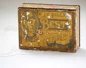 J.G. Dill's Best Cut Plug Tobacco Tin, Primitive Tobacco Tin