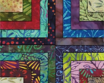 "Xanadu Batiks Charm Pack Moda Fabrics 40 - 5"" Fabric Quilt Squares Kit New"