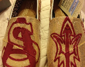 Arizona State University Tailgating Shoes (TOMS)