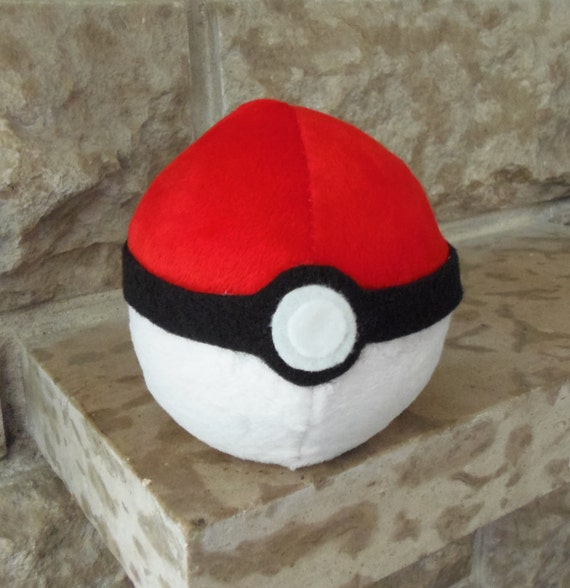 Items similar to Pokemon Inspired Pokeball Beanbag Plush & Pokeball Bean Bag Chair - Home HD