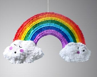 Rainbow and Cloud Pinata