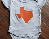 Baby Texas Onesie - Hand Painted
