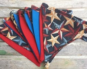 CLEARANCE Fourth of July Americana Patriotic Bunting Banner