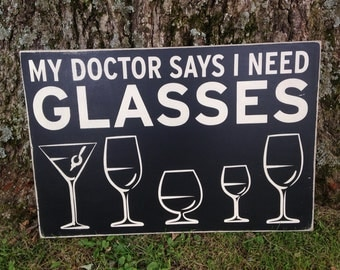 12x18 the doctor says I need glasses