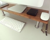 NORDIC STYLE WOODEN Handmade Monitor/Computer Stand 02