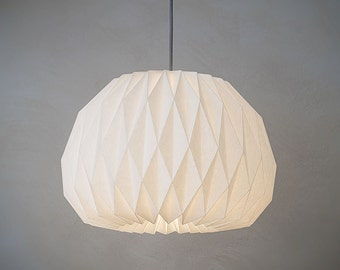 FACING THE MOON   -  origami lampshade
