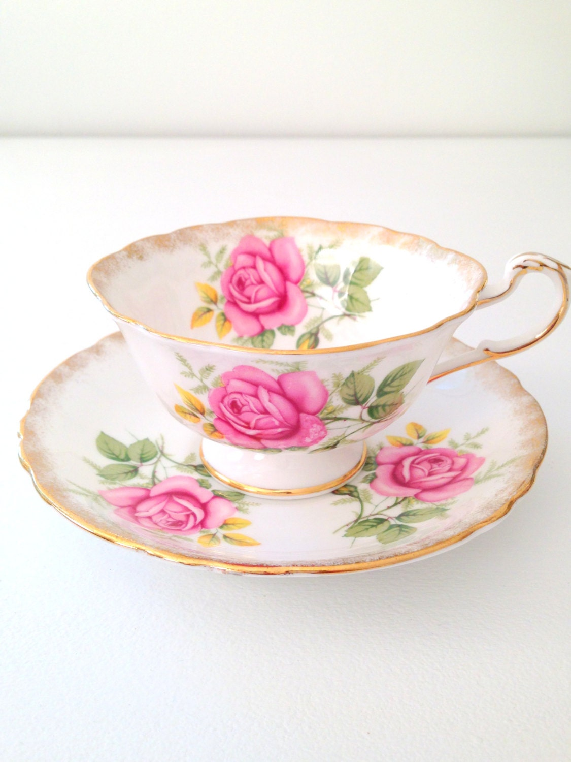 Reserved For Ting Vintage Paragon English Bone China By