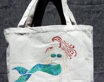 Mermaid Canvas Tote