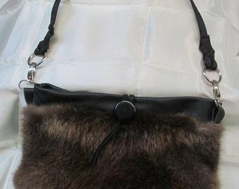 Beaver Fur Purse