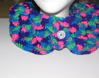Bright Multi-Colored Cowl