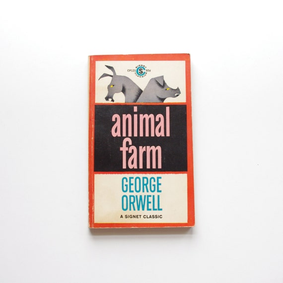 an overview of the novel animal farm by george orwell in comparison to the russian revolituon Timeline of animal farm compared to russian revolution timeline of animal farm compared to about the book-the book animal farm puts trotsky,lenin and.