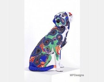 Canis Major (beaded art sculpture)