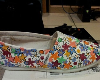 Floral Toddler Toms