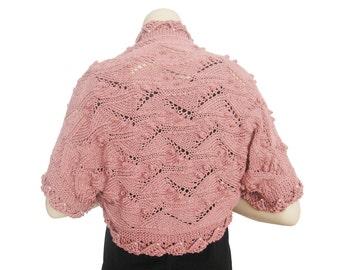 Shrug bolero,Hand knit Shrug Bolero, knitter Shrug,Women Shrug,Bridal Shrug,Wedding Stole,valentine's gift,christmas