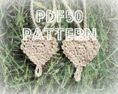 3 PATTERN PACK - you get flower, butterfly, and antique heart patterns