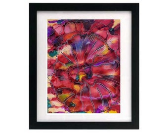8.5 x 11 Synesthesia — Signed & Numbered Starving Artist Print