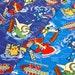 Pocket Monster Pokemon Characters / Japanese Animation Cartoon Fabric 110cm x 50cm