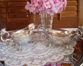 Vintage rococo ornate Corbell Silverplate/Wedding Table Setting/ wedding gift Serving/Holiday Decor/Collectibles-wedding decor