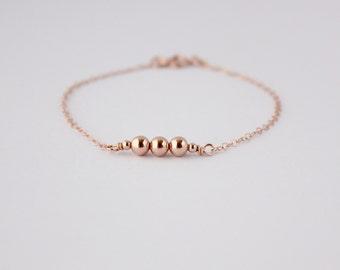 Rose gold filled bracelet