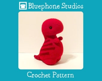 Crochet Pattern: Timothy the T-Rex