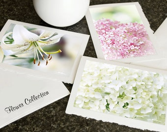 CARDS Flower Collection, Butterfly, Wildlife, Christmas Photo greeting cards Blank Notecard Set Choose any 3 pictures in my shop Gift mom